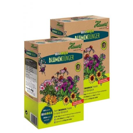 Biorga Blumendünger 2x1,5kg