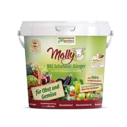 Molly BIO Schafwolldünger für Obst und Gemüse 850g, Molly BIO