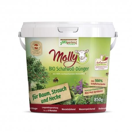 Molly BIO Schafwolldünger für Baum, Strauch und Hecke 850g