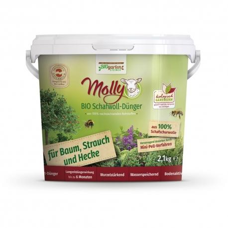 Molly BIO Schafwolldünger für Baum, Strauch und Hecke 2,1kg
