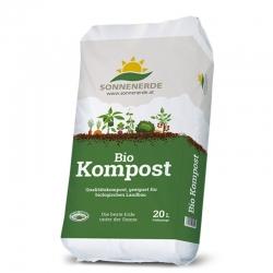 Bio Kompost 20 Liter Sonnenerde, kompost, anwendung, liter