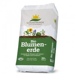 Bio Blumenerde 20 Liter Sonnenerde, Bio Blumenerde, Sonnenerde