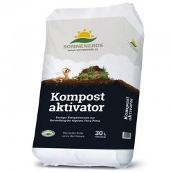 Bio Kompostaktivator 30 Liter Sonnenerde, Urgesteinsmehl