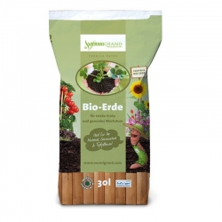 Bio Erde Vermigrand 30 Liter, Vermigrand, Bio ERde, eine, frei
