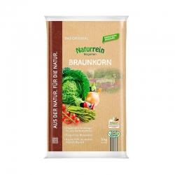 Braunkorn Naturrein 5 kg, organischer Volldünger, Braunkorn