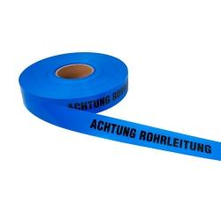 Achtung Rohrleitung 250lfm - Blau