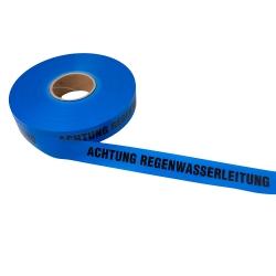 Achtung Regenwasserleitung 250lfm - Blau