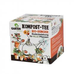 Kompost-Tee für Pflanzen Gartenleben 8 Beutel á 30 ml