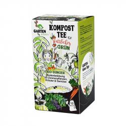 Kompost-Tee für sattliches grün Gartenleben 12 Beutel á 45 ml