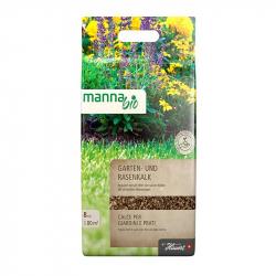 Manna Bio Garten- und Rasenkalk Hauert 8 kg, Hauert Manna Rasen