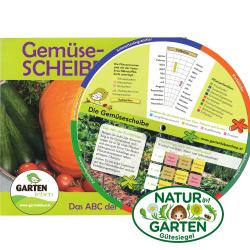 Gemeüsescheibe GartenLeben, Gemüsescheibe, Natur im Garten