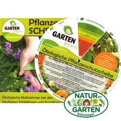 Pflanzenschutzscheibe GartenLeben