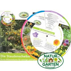 Mischkulturscheibe GartenLeben, Mischkulturscheibe, Natur im
