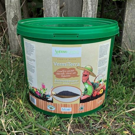 VermiTerra Vermigrand 5 Liter (0-3mm Siebung)