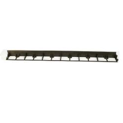Rasenkante Länge:1000mm Höhe: 58mm - schwarz, Rasenkante 58mm