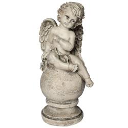 Engel auf Kugel groß 43cm
