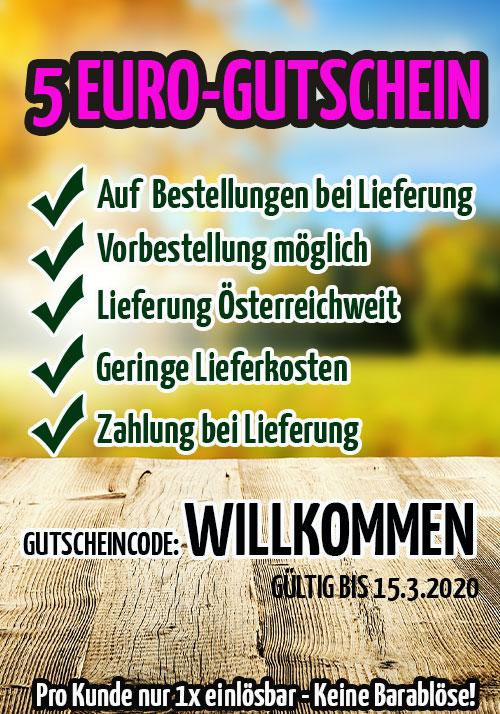 5 Euro Gutschein GartenGarten.at